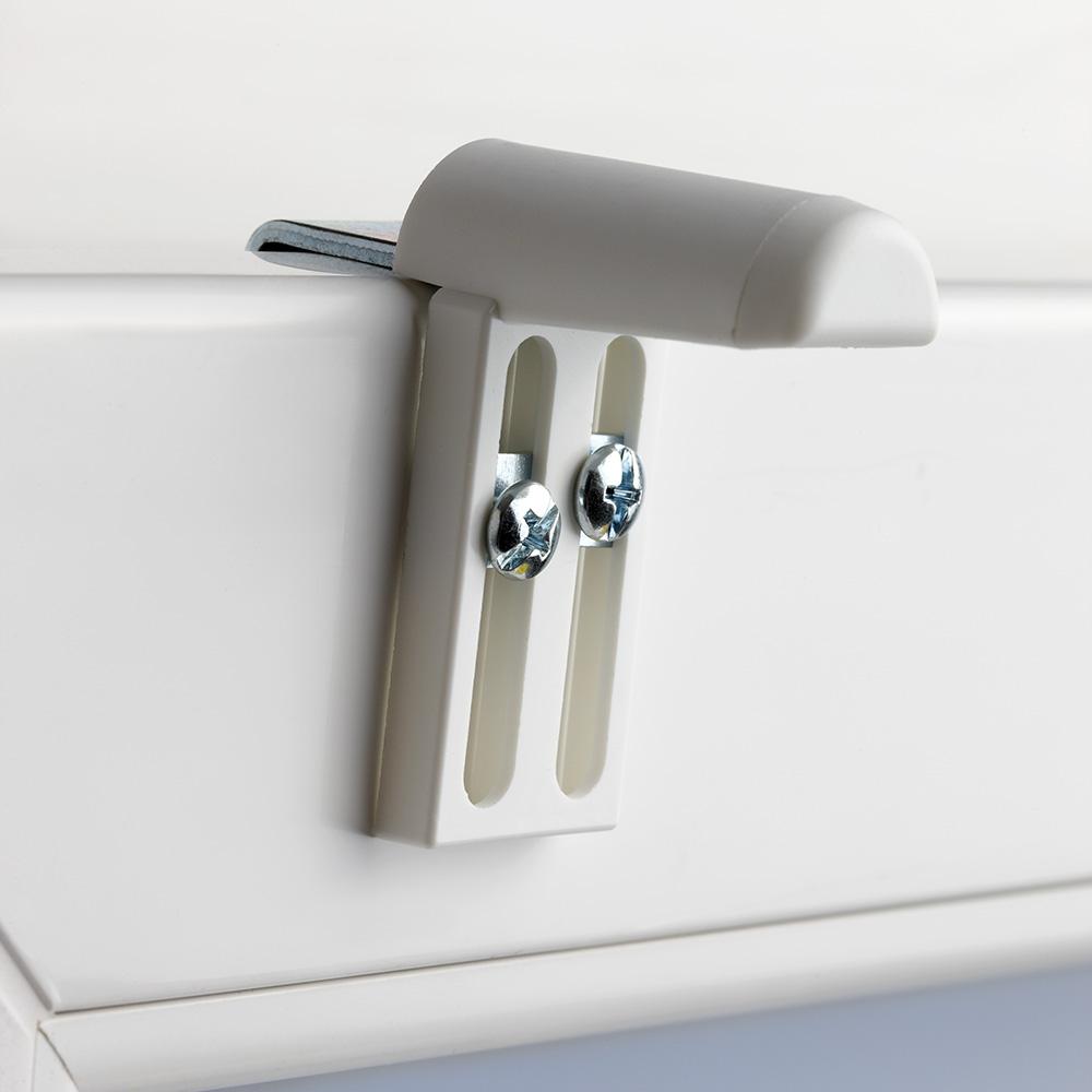 2 st ck klemmfix klemmhalter f r rollo plissee jalousie. Black Bedroom Furniture Sets. Home Design Ideas