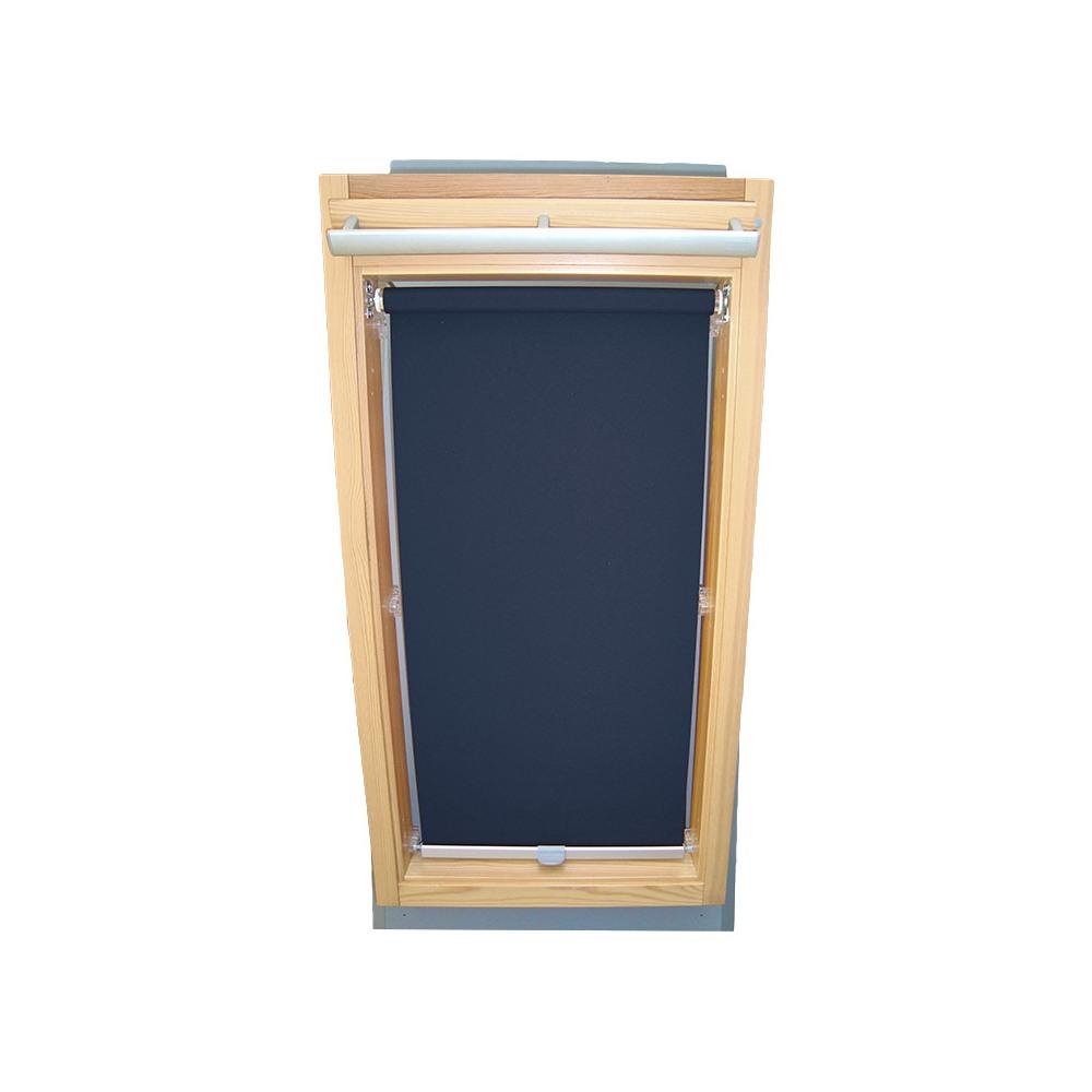 sichtschutzrollo haltekrallen f r velux dachfenster ggl gpl ghl dunkelblau ebay. Black Bedroom Furniture Sets. Home Design Ideas