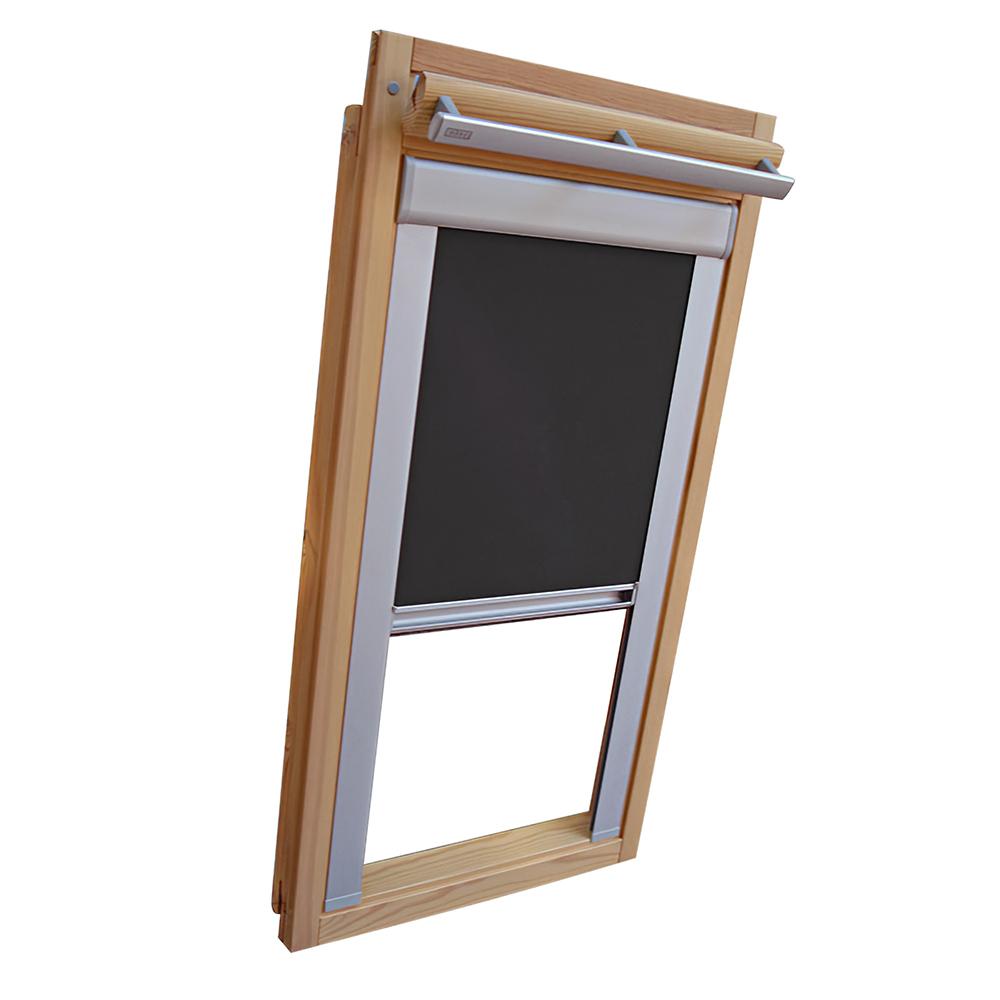 sichtschutzrollo schiene dachfensterrollo f r velux ggl. Black Bedroom Furniture Sets. Home Design Ideas
